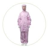 모자를 가진 방어적인 작업복 ESD 의복을 입는 공장 가격 ESD