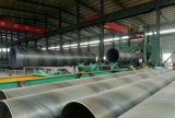 Pijpen van het Staal van het Staal SSAW van ASTM A106 Gr. B de Spiraal Ondergedompelde Boog Gelaste