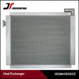 Réfrigérant à huile en aluminium d'excavatrice de plaque de barre de haute fiabilité