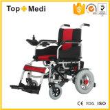 [توبمدي] يطوي آليّة قوة [إلكتريك موتور] كرسيّ ذو عجلات لأنّ يعاق [ديسبل بيوبل]