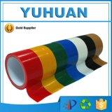 Bande auto-adhésive de protection de conduit de tissu de différentes couleurs