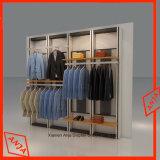 Prateleira da parede do indicador da roupa do carrinho de indicador da roupa