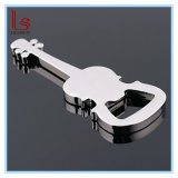Abrelatas de botella creativo de la guitarra de la música (plata)