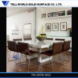 Meubles de cuisine d'accueil de l'acrylique Table à manger pour mobilier de maison