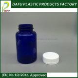 ذهبيّة ألومنيوم غطاء محبوب [250مل] زجاجة زرقاء لأنّ الطبّ