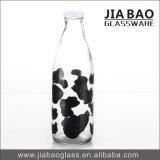 frasco quente do vidro do Yogurt do cal de soda do Sell 1L