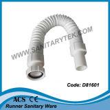 Tubo flessibile & estendibile di drenaggio del PVC (D81602)