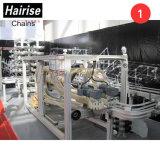Motorizado Hairise sala limpia de la correa transportadora de mantenimiento de la Ronda