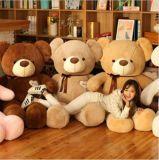 거대한 박제 동물 견면 벨벳 장난감 곰