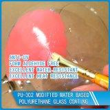 Revêtement en verre à haute dureté résistant à l'abrasion