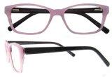 Novo Design de óculos de acetato de quadros de Óptica óculos de óculos