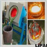 Mini horno fusorio modificado para requisitos particulares IGBT de la inducción de frecuencia media de la capacidad para el aluminio de acero cobreado de fusión del hierro