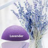 Esponja natural de Konjac para limpeza de rosto Esponja de limpeza facial profunda