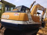 Máquina escavadora original usada de Kobelco Sk120-3 para a venda
