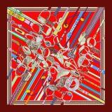 Wundervolle Digital-Druck-kundenspezifische Form-Silk Schal (F13-0042)
