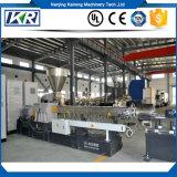 Зерна материалов PVC/LDPE/XLPE теплочувствительные делая рециркулировать этап 2 твиновский штрангпресс винта