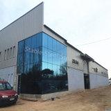 Taller de estructura metálica modular para el taller de reparación de coches