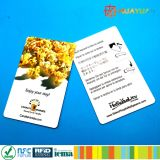 карточка классицистической EV1 RFID гостиницы 13.56MHz ISO14443A MIFARE ключевая