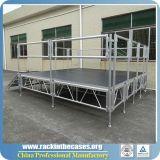 Hot Sale Stade de contreplaqué en aluminium à hauteur réglable pour le Club / Mariage