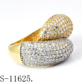 Commercio all'ingrosso d'argento della fabbrica dei monili di modo dell'anello 925
