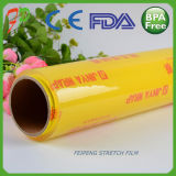 FDA에 의하여 승인된 음식 급료 PE/PVC 플라스틱 포장은 필름 달라붙는다