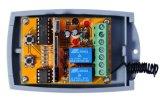 Algemeen begrip 2 Kanaal 12 - 24V Ontvanger van de Code van AC/Dcwireless de Rolling voor de Deur van de Automatisering van de Poort