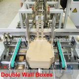 De automatische 4/6 Doos die van de Hoek en Machine (wo-750pc-r) lijmen vouwen