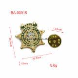 Emballage personnalisé Gold Organization et School Metal Badge