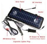 12V 4.5W Monocrystalline Solar Panel Module System Car Automóvel Barco Portátil Recarregável Power Battery Charger
