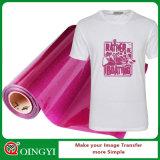Vinil barato da transferência térmica do Glitter do preço e da alta qualidade de Qingyi para o t-shirt