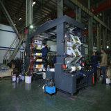 Тип пластичная печатная машина стога 6 цветов графика Flexo