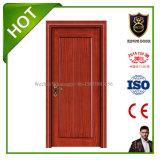 Portes intérieures en bois solide de modèle moderne de prix usine