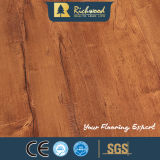 Der V-Grooved Parkett-Ahornholz-Hickory der Walnuss-HDF lamellierte lamellenförmig angeordneten hölzernen Bodenbelag
