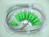 Gpon Telecommunication 1X8 Blockless PLC Splitter para redes de área local (LAN) Sistemas CATV