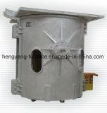 銅アルミニウム鋼鉄黄銅の溶ける機械装置のための350kg誘導加熱の溶ける炉