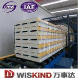 Heiße Schaumgummi-Zwischenlage-Panel-Zeile des Verkaufs-ENV, EPS/PU Dach-Zwischenlage-Panel, hoch