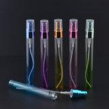 Botella de cristal del perfume colorido 10ml