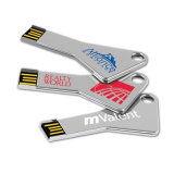 Dreieck-Schlüsselform-Metall8gb USB-grelle Platte-Stock-Laufwerk USB