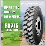 el mejor neumático chino del acoplado del neumático del neumático radial del carro 295/75r22.5 con término de garantía