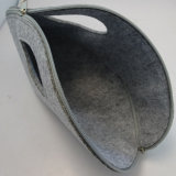 環境のフェルト装飾的な袋ポリエステルファブリック装飾的な袋女性のための少し記憶手のケースの構成袋