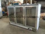 Bebida comercial de aço inoxidável Refrigerador de barra traseira de refrigerante