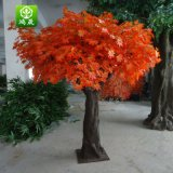 Dongguan Atacado Fibra de vidro Real Trunk Evergreen Fake Artificial Maple Tree