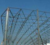 Grade bonita da construção de aço para o parque de estacionamento