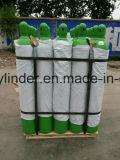 Cilindro de gás do oxigênio de ISO9809 50liter com válvula de Qf-6A