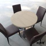 Tabella di pietra artificiale rotonda della corte di alimento della mobilia del ristorante di Kingkonree (171201)