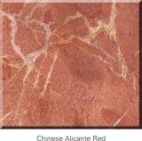 China el granito rojo con Cortada losa