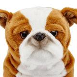 Bulldog jouet en peluche, personnalisé un jouet en peluche