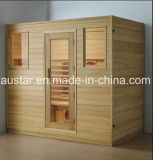 Stanza di sauna di legno solido con il formato personalizzato (AT-8616)