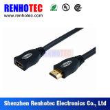 HDMI 고속 가득 차있는 HDMI 케이블 검정