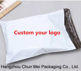 Sacchetto bianco espresso di abitudine il poli con il marchio ha stampato